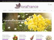 screenshot http://www.florafrance-funeraire.com/ Fleuriste
