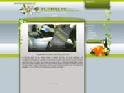 screenshot http://www.floralys-boutique.com/ livraison de fleurs à lille