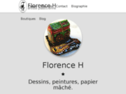 screenshot http://www.florence-h.com florence h créations