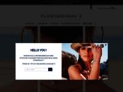 FlowersForZoé: Bijoux en cuir et en porcelaine