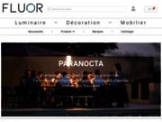 screenshot http://www.fluor-luminaires.fr/ fluor luminaires