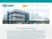 screenshot http://www.focquet.com moteurs électriques industriels