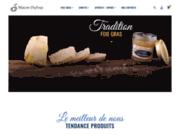 screenshot http://www.foie-gras-dufrexe.fr foie gras maison dufrexe - landes