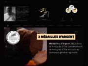 screenshot http://www.foiegras-canoie.com la boutique du foie gras alsace