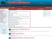 screenshot http://www.footballistique.com/ discutez football