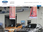 screenshot http://www.ford-garage-grenade.fr/ Garage Bosc