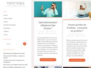 screenshot http://www.forfait-mobile.info Forfait mobile