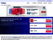 screenshot http://www.forfaits-illimites.fr Forfait illimité