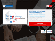 screenshot http://www.formation-anglais-professionnelle.com/ Formation anglais entreprise