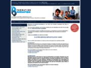 screenshot http://www.formation-bureautique.ca cours microsoft office