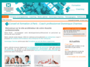screenshot http://www.formation-dominiquecharmes.com/ formation assertivité paris 75 ile de france
