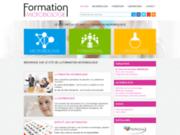 screenshot http://www.formation-microbiologie.com microbiologie alimentaire, formation et stage