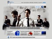 screenshot http://www.formation-professionnelle-paris.fr/ formation pro