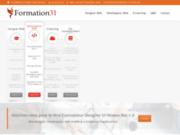 screenshot http://www.formation31.fr Formation webmaster