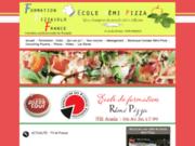 screenshot http://www.formationpizzaiolofrance.fr Formation au métier de pizzaiolo