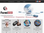 screenshot http://www.formiseo.fr Formation référencement