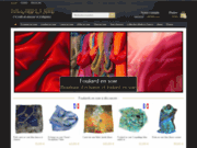 screenshot http://www.foulard-en-soie.fr foulard en soie