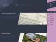 screenshot http://www.fouquere.com david fouquère webdesigner
