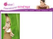 screenshot http://www.fournisseuresthetique.fr/ fournisseur esthetique, grossiste esthetique