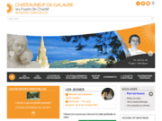 screenshot http://www.foyer-chateauneuf.com enseignement catholique et formation chrétienne