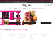screenshot http://fr.fauchon.com/fr/fr fauchon : référence du luxe alimentaire contemporain d'origine française
