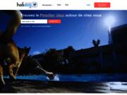 screenshot http://fr.holidog.com/ Garde chien