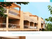 screenshot http://fr.hotel-le-maritime.com hôtel à argelès - en bord de méditerranée