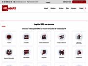 screenshot http://fr.hrmaps.eu.com logiciel sirh ressources humaines