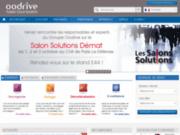 screenshot http://fr.oodrive.com oodrive : éditeur pionnier de solutions saas