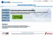 OpenOffice - Suite bureautique gratuite