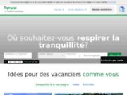 screenshot http://fr.toprural.com toprural - tourisme rural