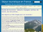 screenshot http://www.francal-evenement.com francal promoteur de  vos loisirs