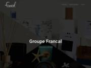 screenshot http://www.francal.fr emballages cadeaux