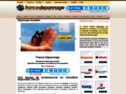 screenshot http://www.france-depannage.fr installation et dépannage chauffage et chaudière