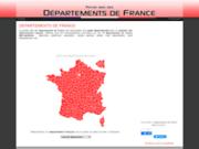 Départements de France : annuaire et guide