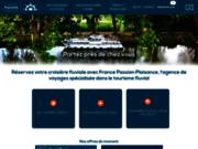 screenshot http://www.france-passion-plaisance.fr préparez votre croisière fluviale