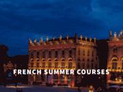 Cours d'Eté de français en France