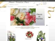 screenshot http://www.francefleurscreation.com france fleurs création, vente en ligne de bouquets