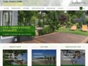 screenshot http://www.franck-renier-paysage.com/ paysagiste expert en aménagements extérieurs, cher