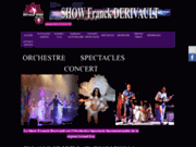 screenshot http://www.franckderivault.com show franck derivault