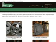 screenshot http://www.francopur.fr/ traitement et revêtement métaux nord 59