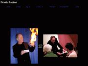 screenshot http://www.frankbarton.com frank barton magicien
