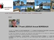 A Bordeaux, Me Frank LEDOUX Avocat