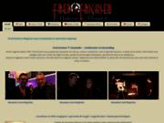 screenshot http://www.fred-ericksen.com fred ericksen, toute la magie a portée de votre evenement sur paris londres soissons