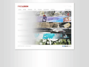 screenshot http://www.fred-loison.fr direction artistique, graphisme, webdesign, illustration