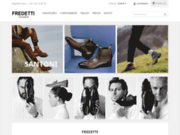 screenshot http://www.fredetti.com/ boutique de chaussure cuir a paris.