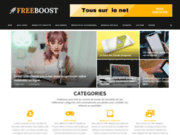 screenshot http://www.freeboost.fr ecole de kite freeboost