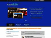 screenshot http://www.freeresto.com création d'un site internet gratuit pour votre restaurant