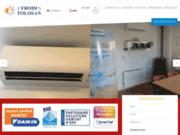 screenshot http://www.froid-tolosan-31.com/ vendre et installe des climatiseurs