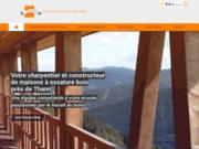 Entreprise de charpente et constructeur de maison à ossature bois près de Thann